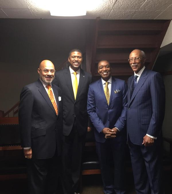 Jalen Rose Leadership Academy Inaugural Graduation Ceremony