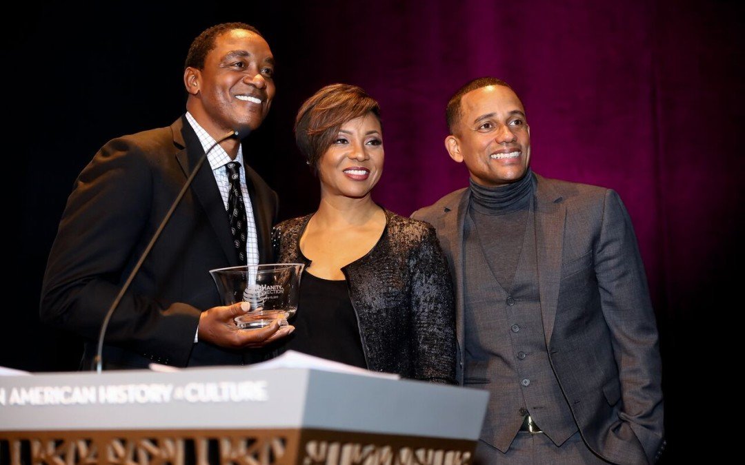 Isiah Thomas receives Humanity of Connection Award in Washington, DC
